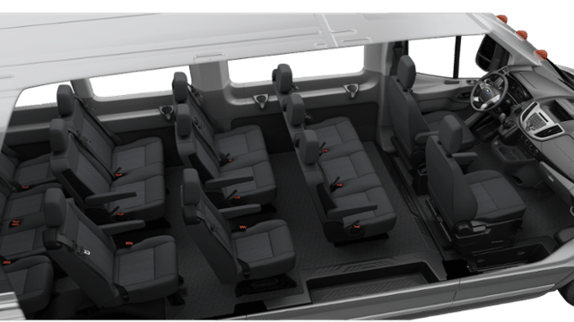 Ford Transit 350 HD XLT Passenger Van interior