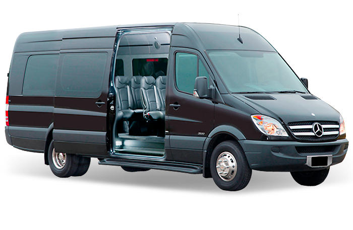 Mercedes Benz Sprinter executive shuttle