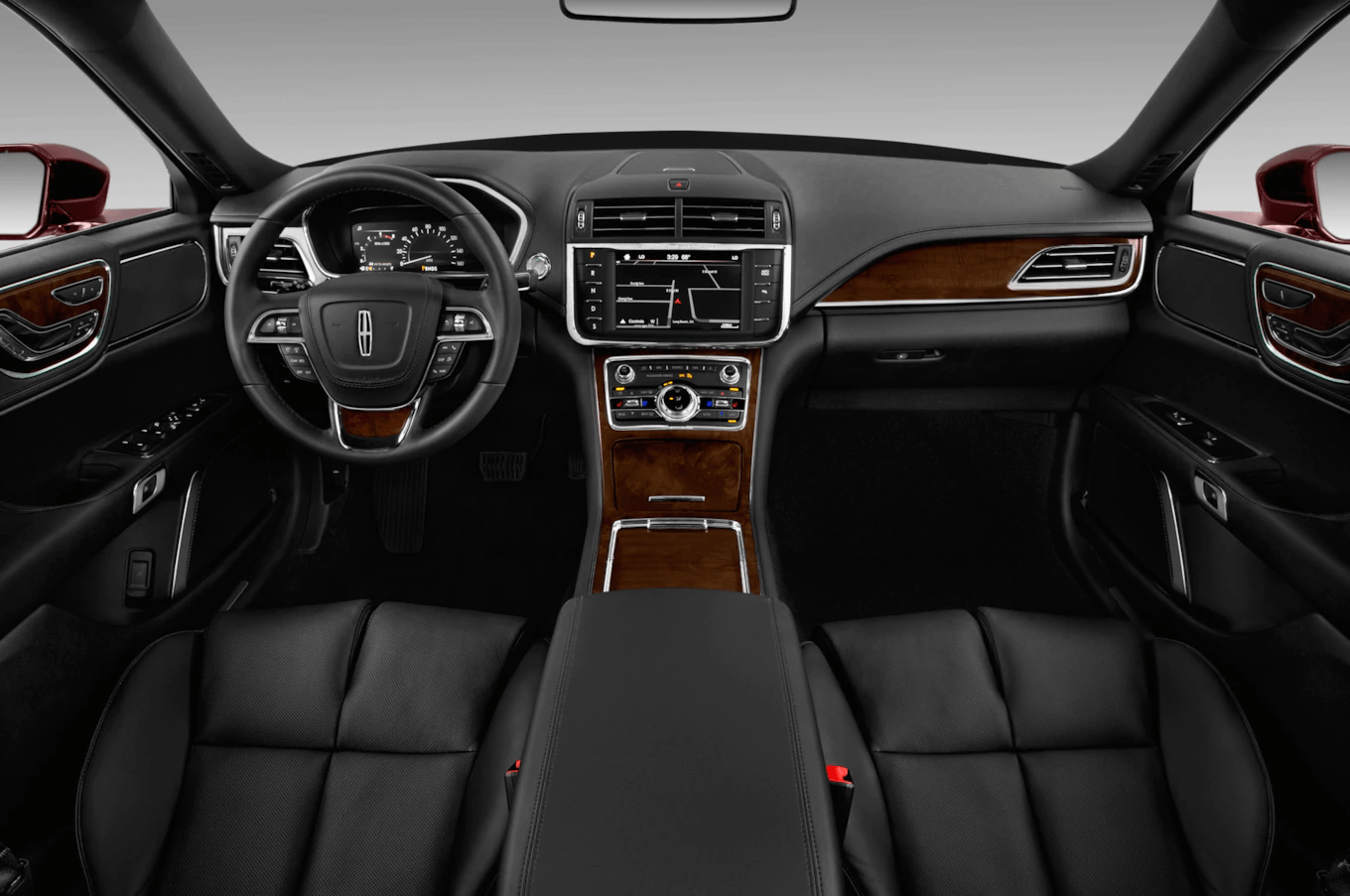 Lincoln Continental Premiere luxury sedan interior